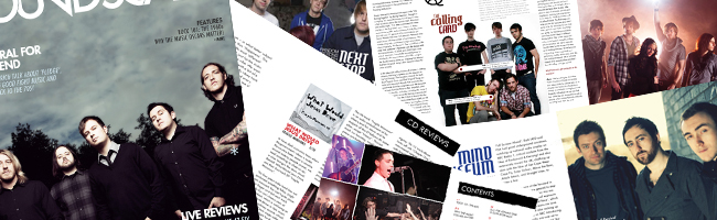 We welcome our March issue with an interview from Welsh heroes Funeral For A Friend, plus The Calling Card, Man Over Board, Mars Patrol and Next Stop Atlanta. There's live...
