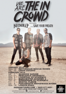 We Are The In Crowd UK Tour 2014