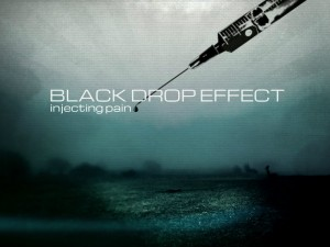 Black Drop Effect Injecting Pain