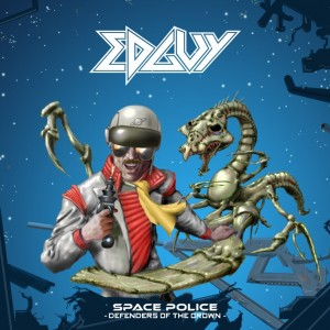 Edguy - Space Police - Defenders Of The Crown - Artwork