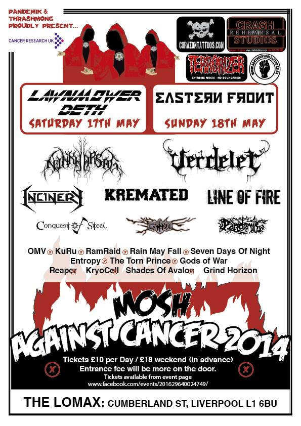 Mosh Against Cancer 2014