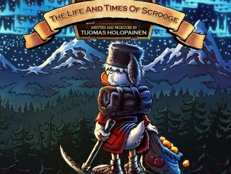 Tuomas Holopainen - The Life And Times Of Scrooge - Artwork