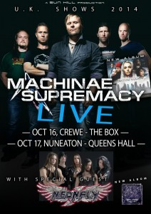 Machinae Supremacy UK Tour