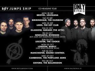 boy jumps ship tour
