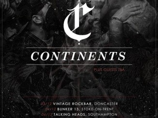 Continents UK Tour poster