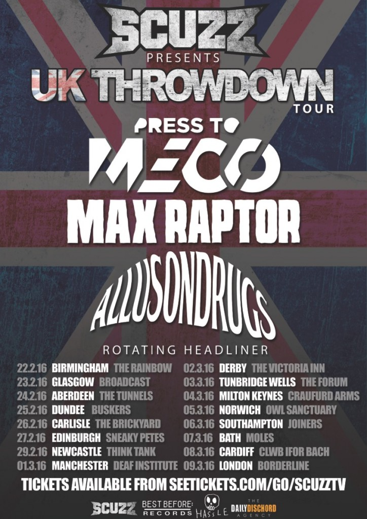 Scuzz UK Throwdown Tour Poster Final_Press To Meco WEB