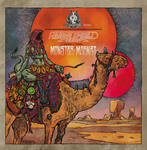 raging speedhorn monster magnet